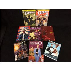 COMIC BOOK LOT (ESCAPIST, A MAN CALLED KEV, DON FLOWERS & MORE)