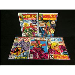 WARLOCK COMIC BOOK LOT