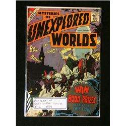 1959 MYSTERIES OF UNEXPLORED WORLDS #12 (CHARLTON COMICS)