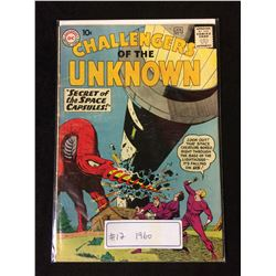 1960 CHALLENGERS OF THE UNKNOWN #17 (DC COMICS)