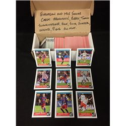 LOT OF EUROPEAN AND MLS SOCCER CARDS