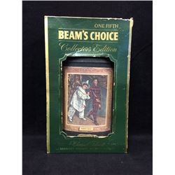 VINTAGE JIM BEAM COLLECTIBLE BOTTLE IN ORIGINAL BOX