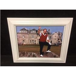 FRAMED JACK NICKLAUS FAREWELL TO ST ANDREWS 16 X 20