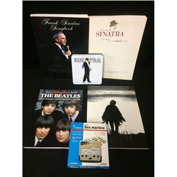 THE BEATLES, FRANK SINATRA MUSIC LOT
