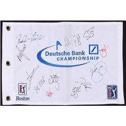 Duetsche Bank Championship Golf Pin Flag Signed by (14)