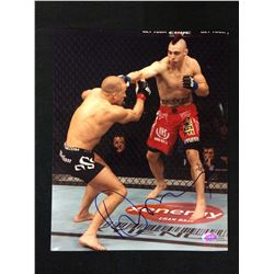 "DAN HARDY SIGNED 8"" X 10"" COLOR PHOTO"