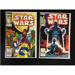 STAR WARS COMIC BOOK LOT #82, #80 (MARVEL COMICS)