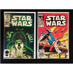 STAR WARS COMIC BOOK LOT #84, #83 (MARVEL COMICS)