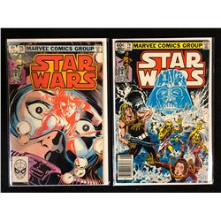 STAR WARS COMIC BOOK LOT #75, #74 (MARVEL COMICS)