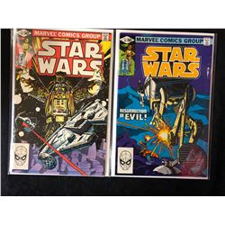 STAR WARS COMIC BOOK LOT #52, #51 (MARVEL COMICS)