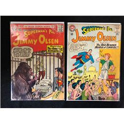 SUPERMAN'S PAL JIMMY OLSEN COMIC BOOK LOT #24, #79 (DC COMICS)