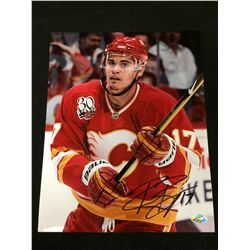 "RENE BOURQUE SIGNED 8"" X 10"" COLOR PHOTO"