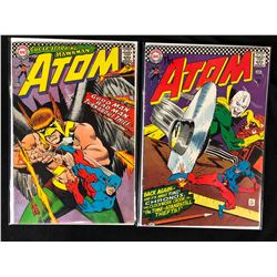 THE ATOM COMIC BOOK LOT #31, #28 (DC COMICS)