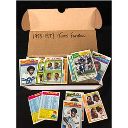 1973-1977 TOPPS FOOTBALL CARDS