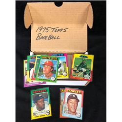 1975 TOPPS BASEBALL CARD LOT