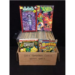 100+ SUPER HERO COMICS (VARIOUS YEARS)