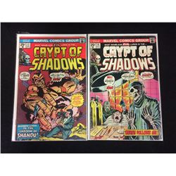 CRYPT OF SHADOWS COMIC BOOK LOT #17, 16 (MARVEL COMICS)