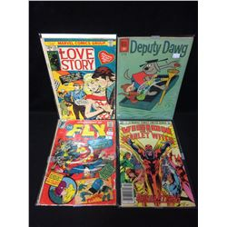 COMIC BOOK LOT (DEPUTY DAWG, ADVENTURES OF THE FLY & MORE)