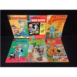 VINTAGE COMIC BOOK LOT (BUGS BUNNY, SCOOBY DOO & MORE)