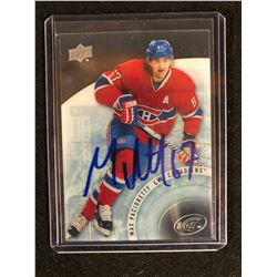 SIGNED 2014-15 Upper Deck Ice Canadiens Hockey Card #20 Max Pacioretty