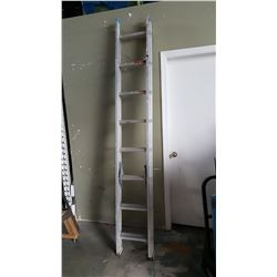 12 FOOT EXTENDED ALUMINUM LADDER