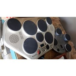 2 ELECTRIC DIGITAL DRUMS