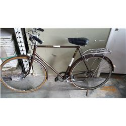 BROWN RALEIGH ROAD BIKE