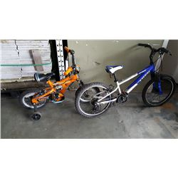 YOUTH TREK AND KIDS SUPER CYCLE BIKE