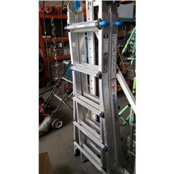 MASTERCRAFT EXTENDING A FRAME LADDER ALUMINUM