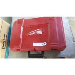 MILWAUKEE CORDLESS TOOL SET NEEDS BATTERIES TESTED AND WORKING