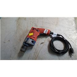 MILWAUKEE ELECTRIC DRILL TESTED AND WORKING