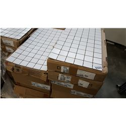 264 SQFT NEW ARCTIC WHITE 2 INCH BY 2 INCH MOSAIC TILE 24 SQFT PER BOX