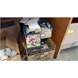 2 BOXES OF SPORTS CARDS AND CARD PACKS