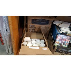 FOUR BOXES OF 200 ROLLS OF THERMAL PAPER
