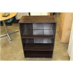 DARK BROWN SHELF UNIT