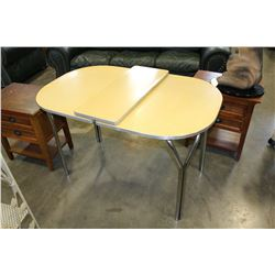 RETRO DINING TABLE W/ LEAF