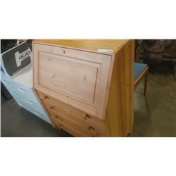PINE DROPFRONT DESK