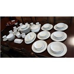 SET OF TIFFANY PORCELAINE CHINA