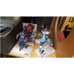 LOT OF NHL MCFARLANE COLLECTABLES