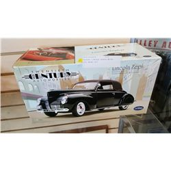 TESTORS LINCOLN ZEPHYR METAL BODY MODEL KIT