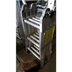 QUAD FOLD ALUMINUM LADDER
