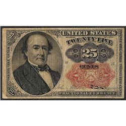 1874 Twenty-Five Cent 5th Issue Fractional Note