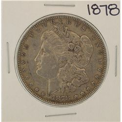 1878 $1 Morgan Silver Dollar Coin