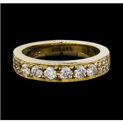 14KT Yellow Gold 0.60 ctw Diamond Ring