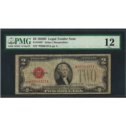 1928D $2 Legal Tender STAR Note Fr.1505* PMG Fine 12