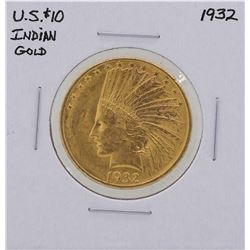 1932 $10 Indian Head Eagle Gold Coin