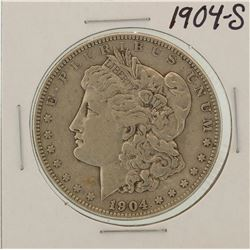 1904-S $1 Morgan Silver Dollar Coin
