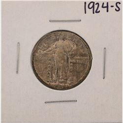 1924-S Standing Liberty Quarter Coin