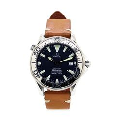 Stainless Steel Men's Omega Seamaster Wristwatch