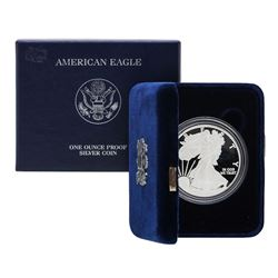 2012 $1 American Silver Eagle Proof Coin w/ Box